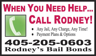 Bail bonds OKC 405-205-0603