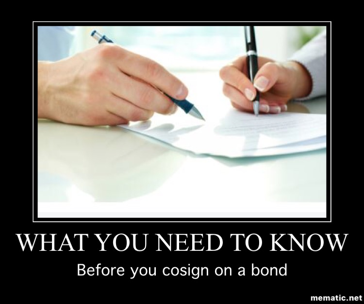 what to know before cosigning